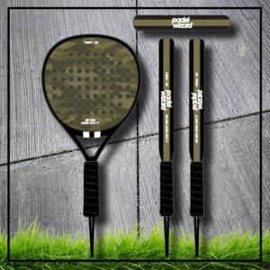 Padel Power Padel tennis racket bat army camouflage