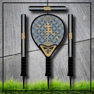 padel tennis racket Yaz gold blackcarbon