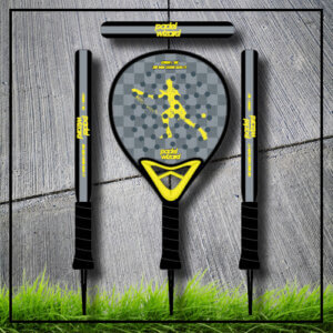 padel tennis racket Yaz yellow carbon