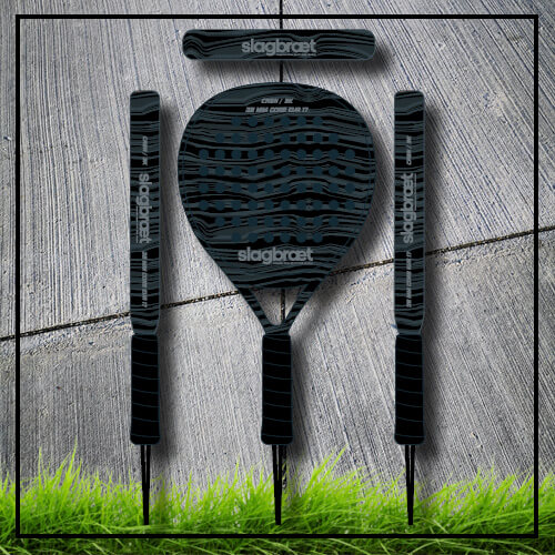 padel tennis racket Acapulco black carbon
