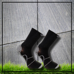 Sports socks black long