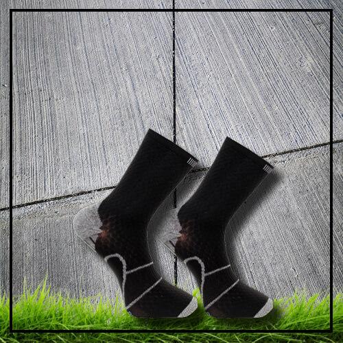 Sports socks black long