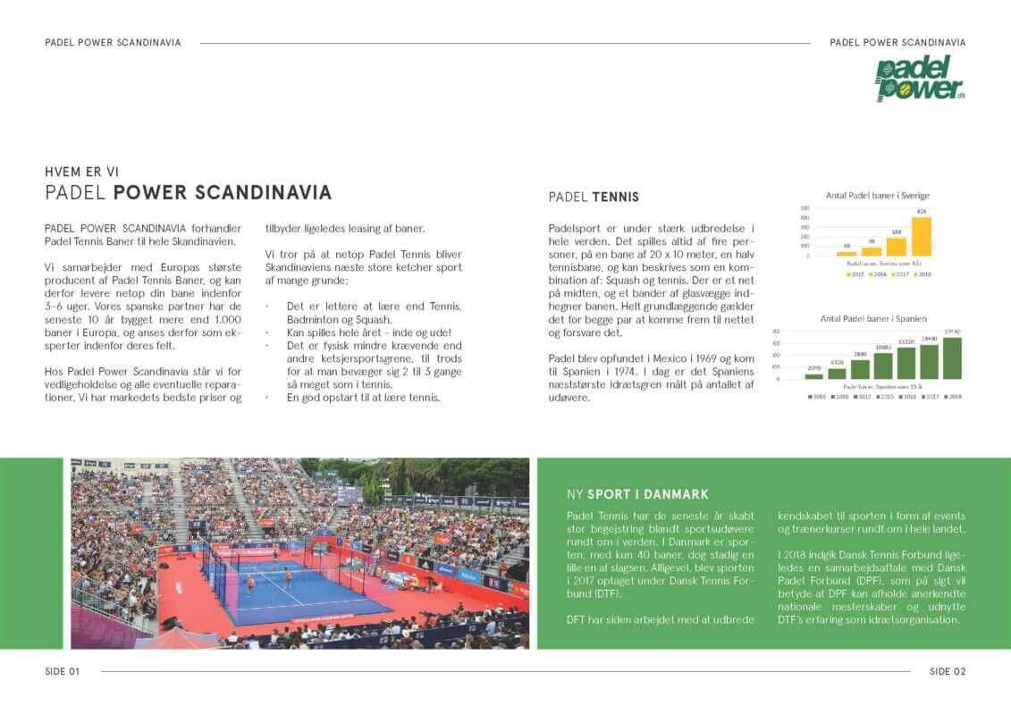 Padel tennis court construction