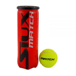 siux padel tennis ball yellow match quality