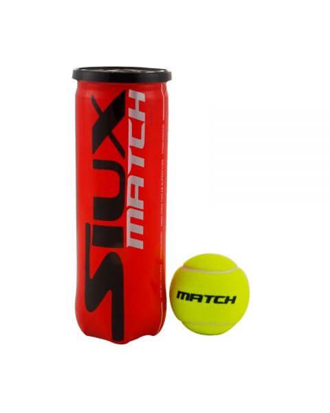 siux padel tennis ball yellow match quality